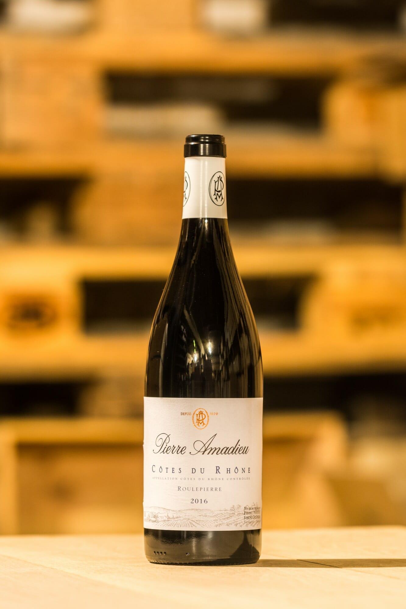 """Pierre Amadieu """"Roulepierre"""" Côtes du Rhône Rouge"""