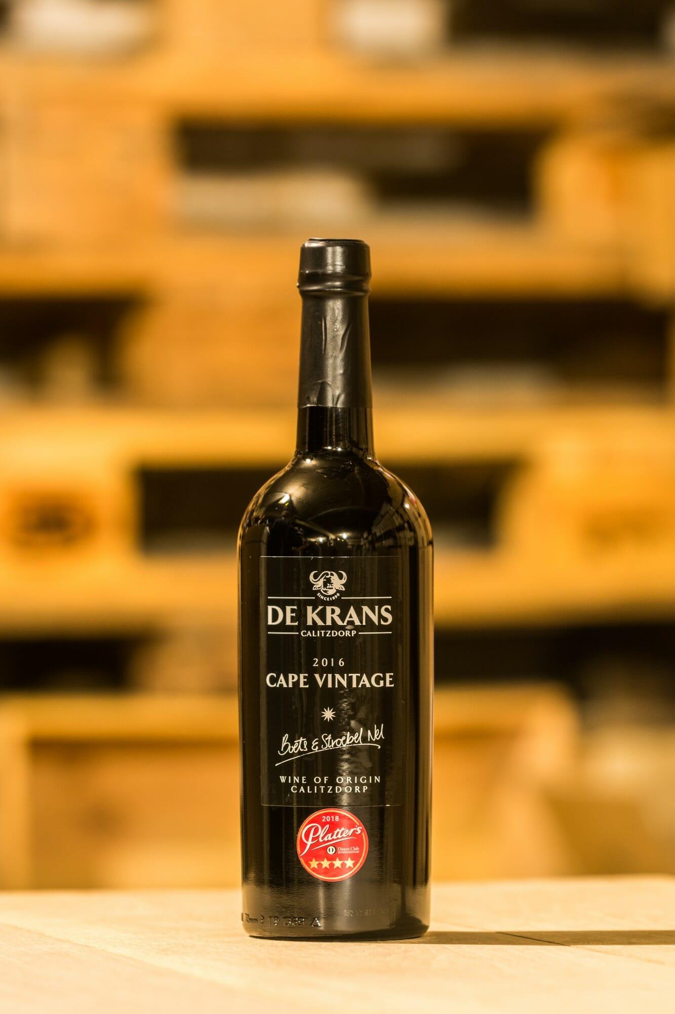 De Krans Cape Vintage 2017