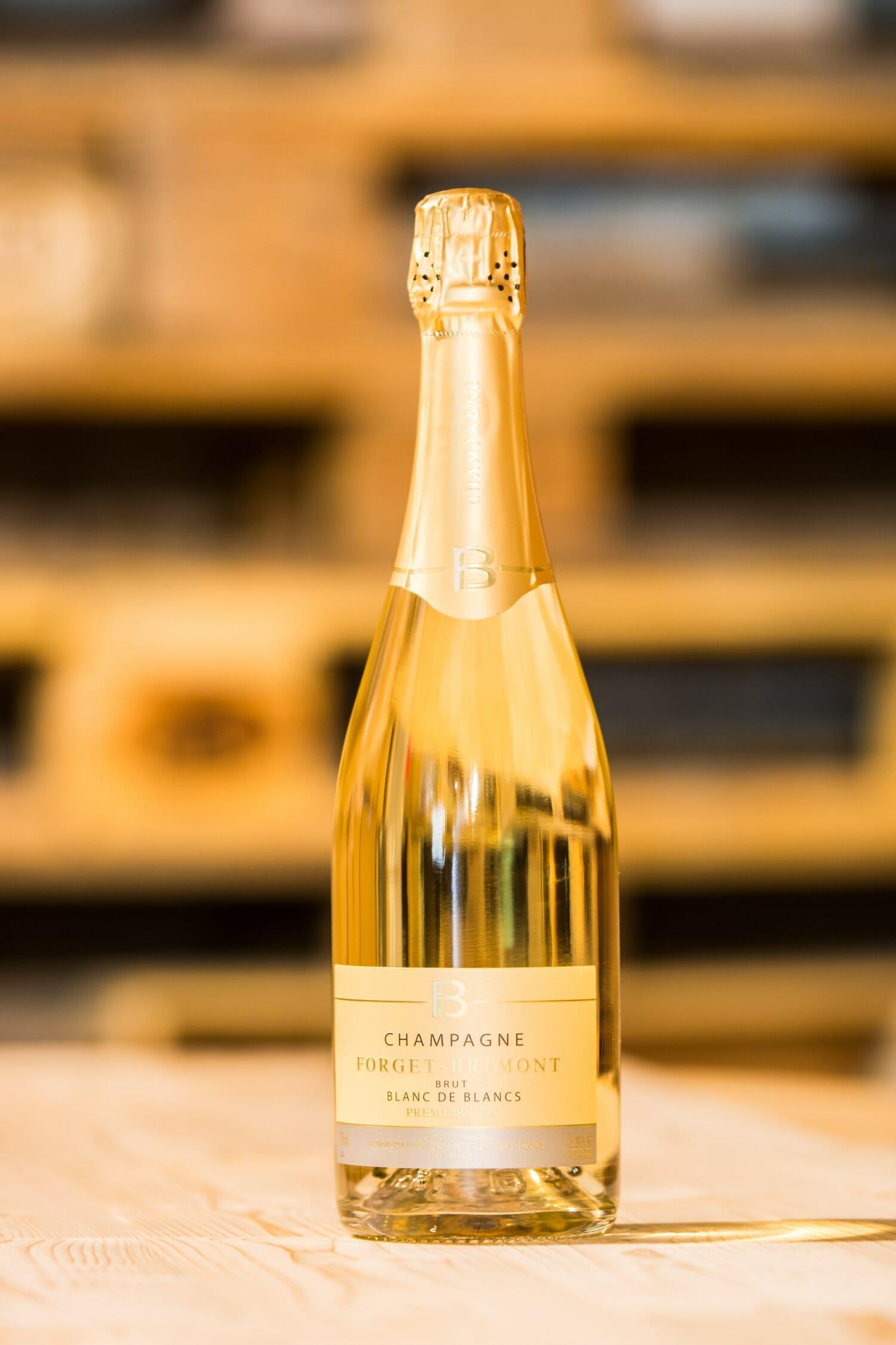 Champagne Forget-Brimont Brut Blanc de Blancs, Premier Cru