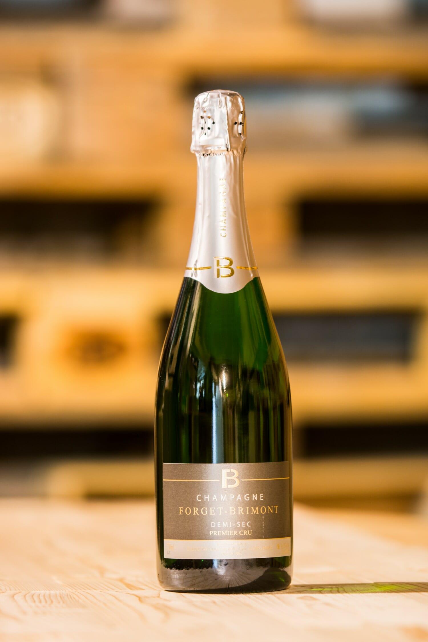 Champagne Forget-Brimont Demi Sec, Premier Cru